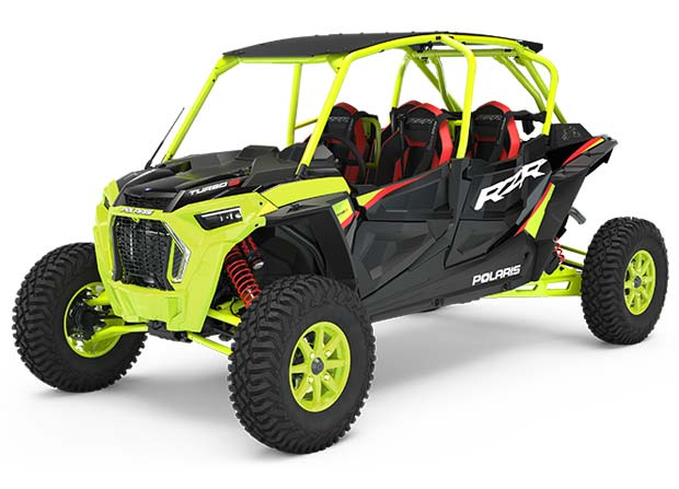 Rzr XP® 4 Turbo S Lifted Lime LE